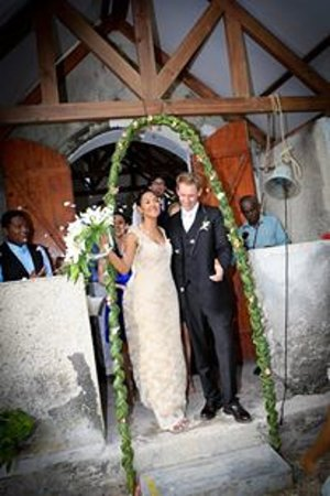 L'Habitation Hotel : Cerf island Chapel wedding