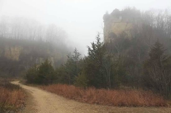 Mines of Spain Recreation Area: Bluffs - Horseshoe Canyon Trail