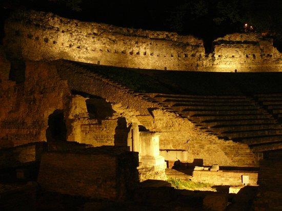 Hotel Coppe: anfiteatro romano