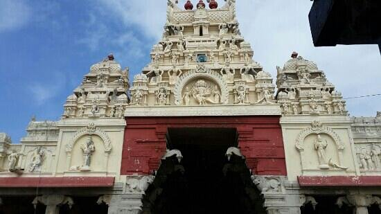 Thiruchendur murugan temple main entrance