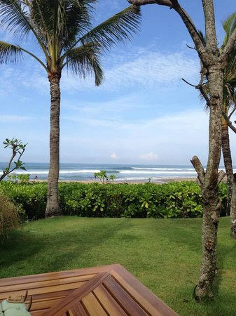 The Oberoi Bali : view from restaurant