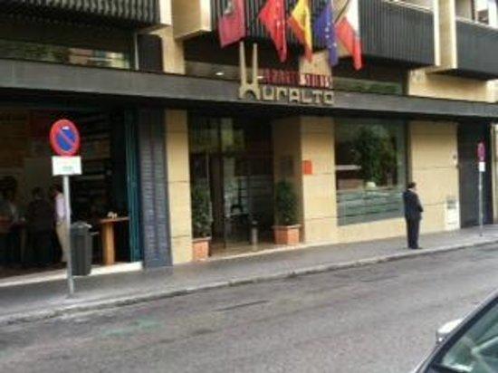 Aparto Suites Muralto -- Front Entrance