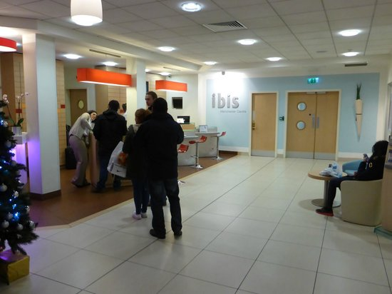 Ibis Manchester Centre Portland Street: ロビー