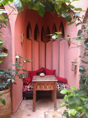 Riad Amira Victoria: Quiet space - one of many