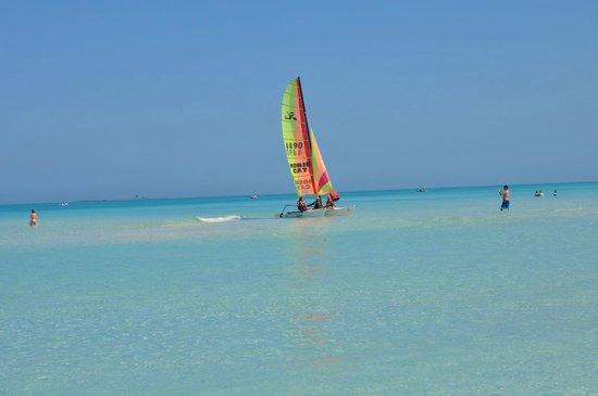 Royalton Cayo Santa Maria : sail boat by our beach