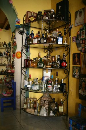 Pancho Vila Tequileria: Expensive bottles