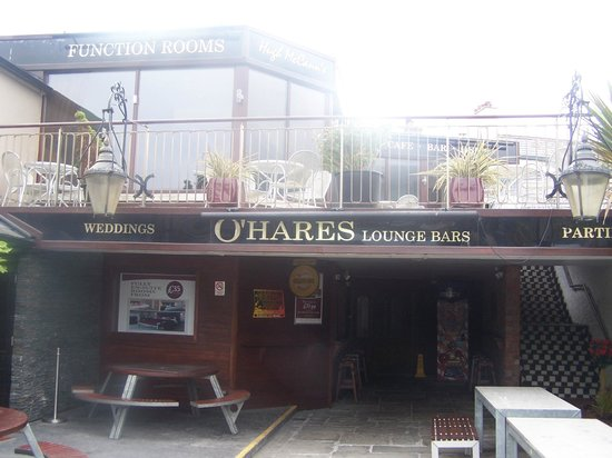 O'Hares Newcastle: The back entrance into the bar and club area