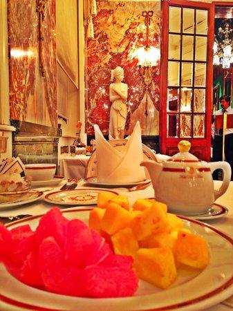 Hotel Sacher Wien: Beeakfast