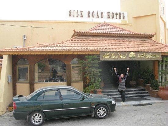 Silk Road Hotel: entrance