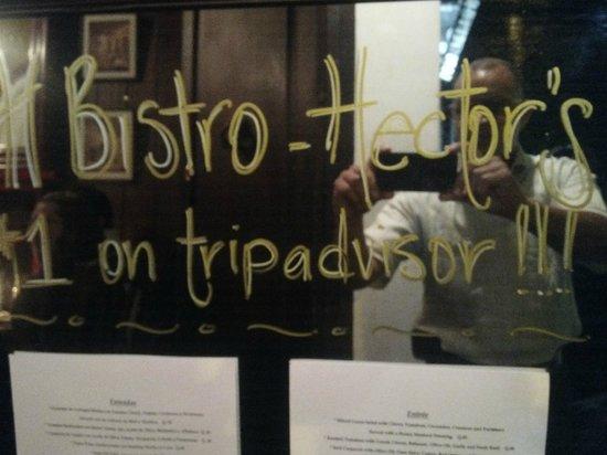 Hector's Bistro: Entrada al Restaurante