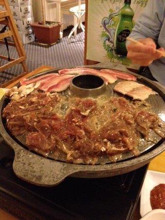 Korean Village Han Kuk Kwan: Pork Belly and Prime Beef
