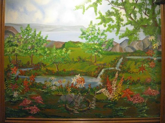 Fort Harrison State Park Inn, Golf Resort & Conference Center : entry mural