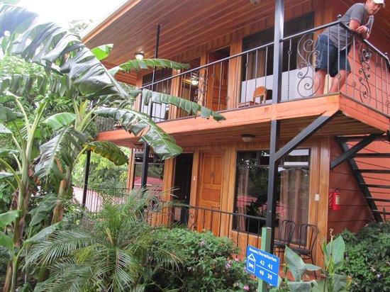 Hotel Cipreses Monteverde Costa Rica : die Zimmer 39-42 im gesonderten Bau