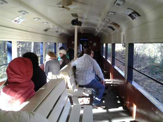 Wilmington and Western Railroad: Our open sided coach