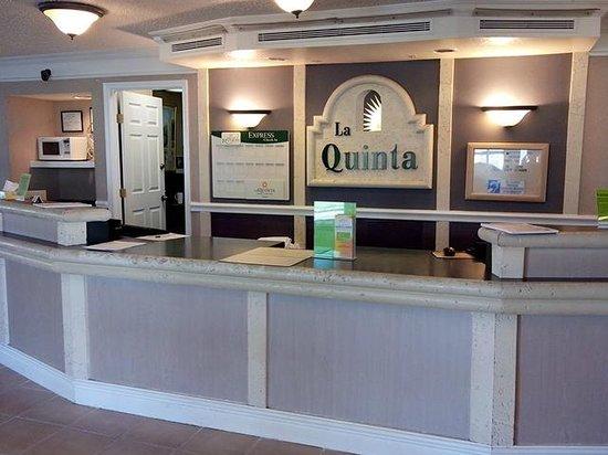 La Quinta Inn San Antonio Vance Jackson: Reception