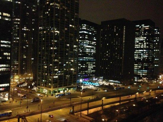 Sheraton Grand Chicago: vue de la chambre