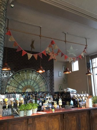 The Black Dog Freehouse: Ready for a wedding!