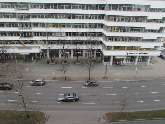 Hotel Berlin, Berlin: View from my room
