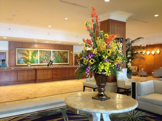 Hilton Guam Resort & Spa: ロビー&フロント