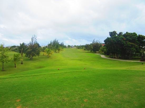Barbados Golf Club: great view from hole #11