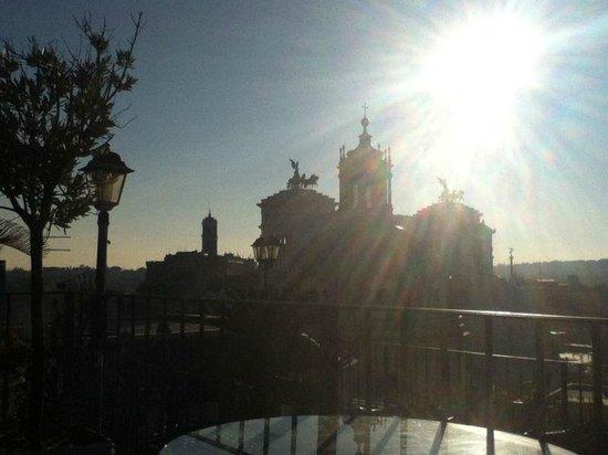 Hotel Pace Helvezia: Vistas desde la azotea