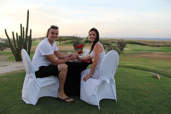 Tierra del Sol Resort & Golf: our table for two with the