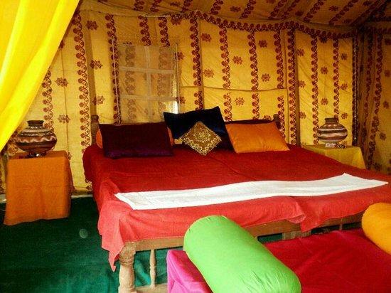 Wild Desert Resort  a unit of Rao Bikaji Group : fire dance