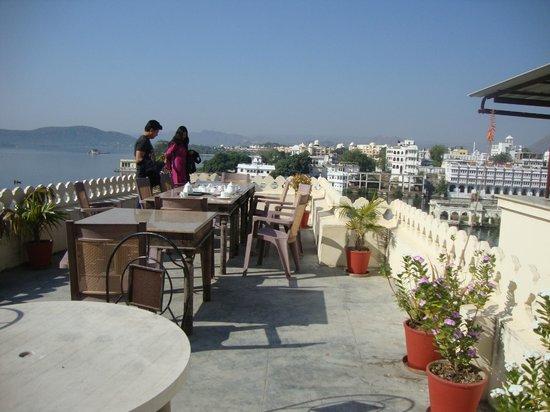 Hotel Aashiya Haveli: Rooftop