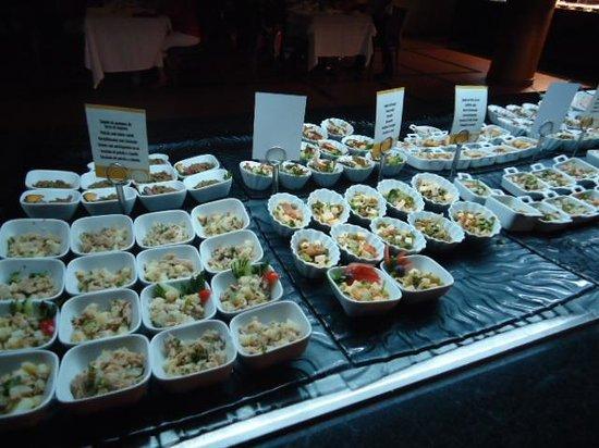 Hotel Riu Palace Tikida Agadir : buffet raffiné