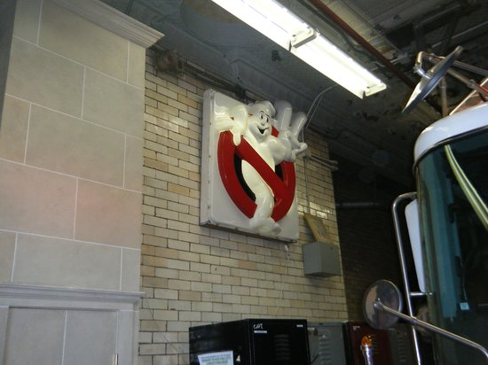 GhostBusters Firestation : Ghostbuster sign