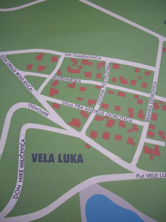 Aparthotel Bracka Perla: план местности