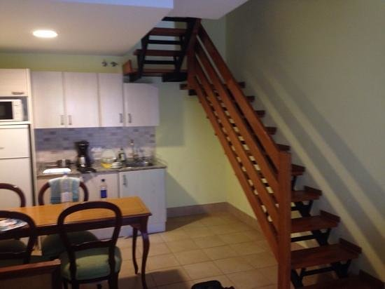 Playamar Bungalows: stair