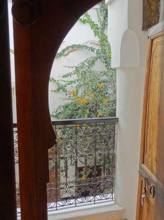 Riad el Maktoub Marrakech : par la porte de chambre