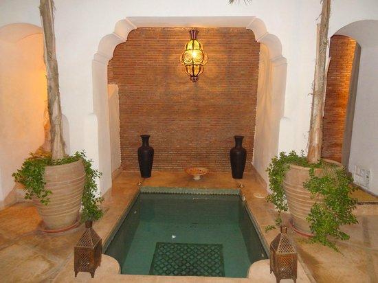 Riad el Maktoub Marrakech: le bassin