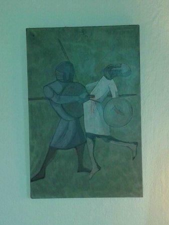 Hotel Temple Ponferrada: Otro espanto