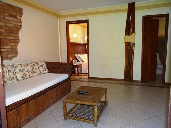 Privillage Praia : Suite Master - sala