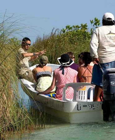 Mexico Kan Tours - Day Tours: Mexico Kan Tours Sian kaan Muyil | fresh water lagoon and canals