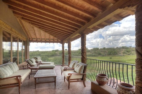 Blue Lake Ranch: Upper Spring House Private Deck