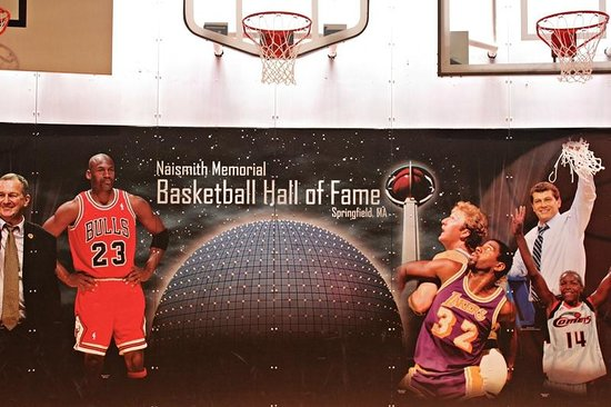 Basketball Hall of Fame : Mural