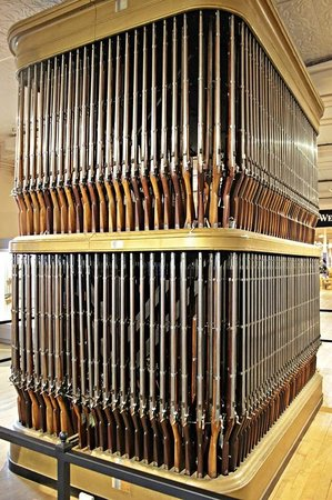 Springfield Armory National Historic Site: Organo de rifles
