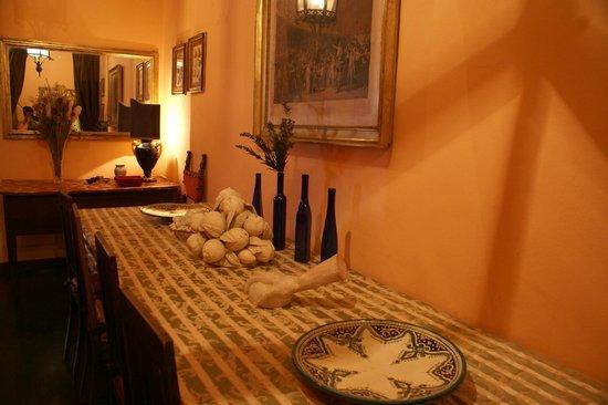 Palazzo Aria della Ripa: Dining area