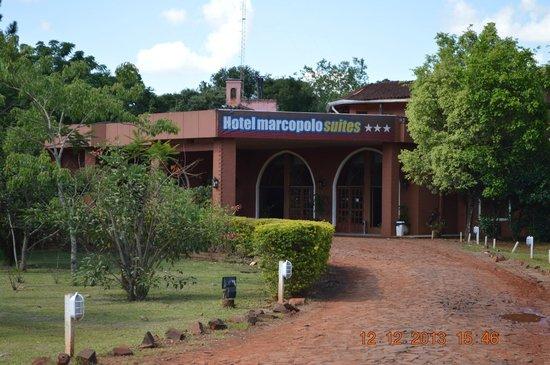 Marcopolo Suites Iguazu : El frente