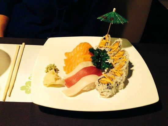 Kenko Sushi: Combination Plate