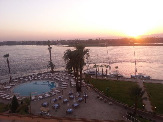 ACHTI Resort Luxor: sun set