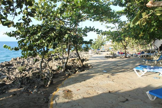 Casa Marina Beach & Reef: the walkway along the Reef