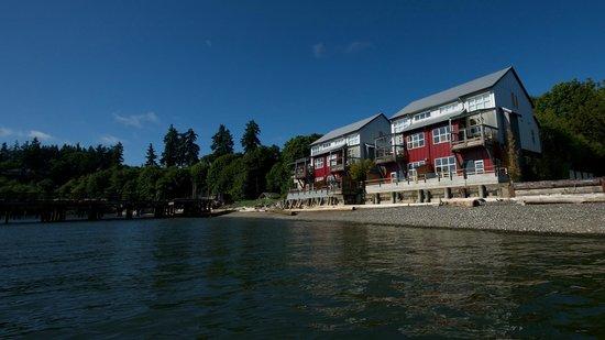 Boatyard Inn: Waterfront