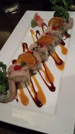 Kuro Asian Cuisine: Kuro sushi plate