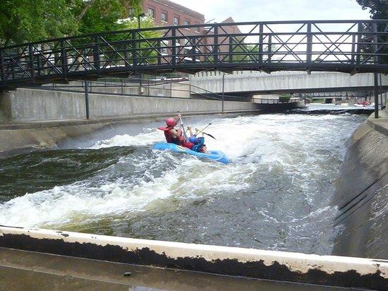 East Race Waterway: east race