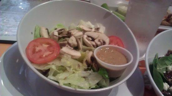 Mellow Mushroom: li'l tossed salad