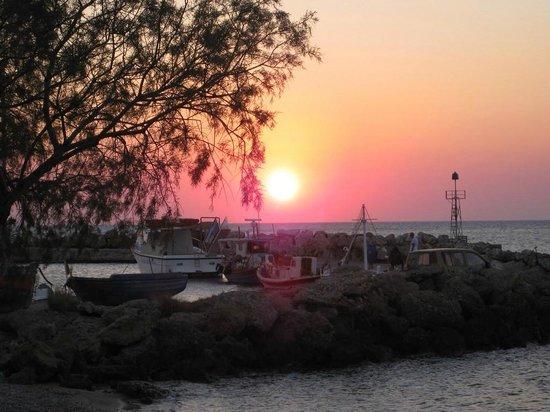 Captain Nikolas: sunset